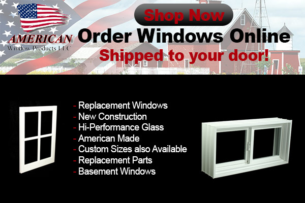 Windows window replacement parts McCord Wisconsin Lincoln County