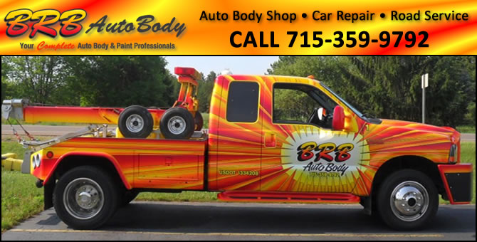 Auto Body Shop  March Rapids Marathon County Wisconsin