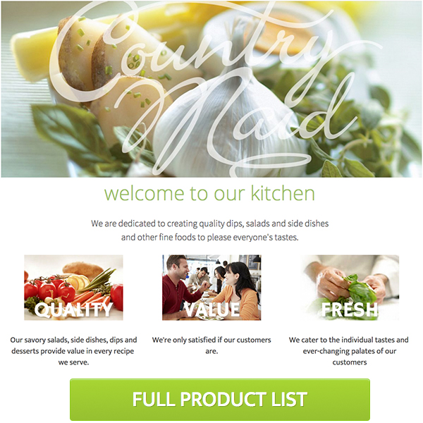 Salad Manufacturer Prepared Salad Manufacturers Shorewood Wisconsin Milwaukee County