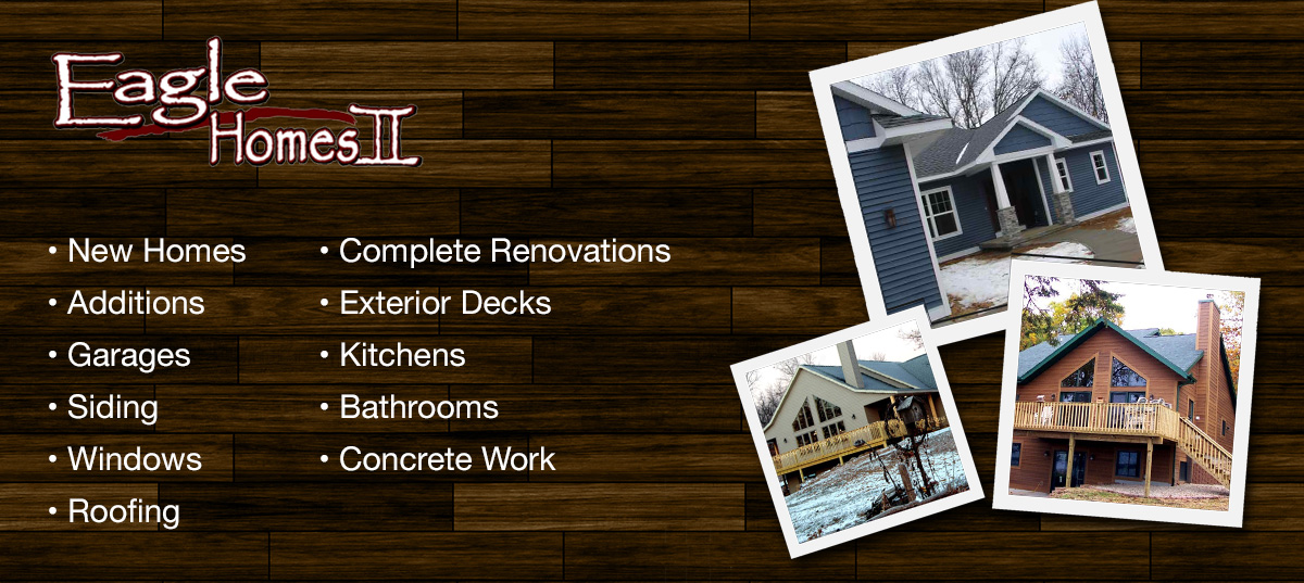 home builder  Westfield Wisconsin Marquette County