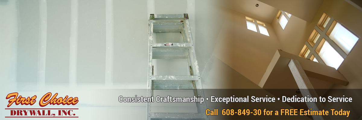 drywall contractors drywall repair Springfield Wisconsin Dane County