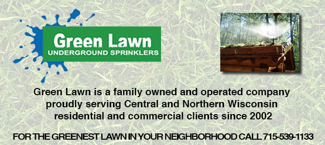 sprinklers sprinkler repair Granite Heights Wisconsin Marathon County