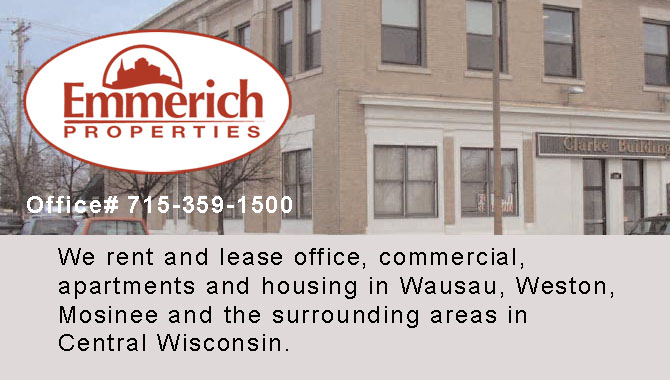 Apartments for rent housing for rent Emmerich Wisconsin Marathon County