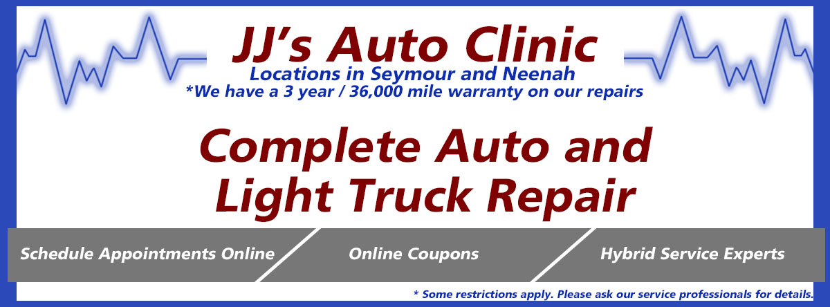 Auto Repair Shop car repair Menasha Wisconsin Winnebago County