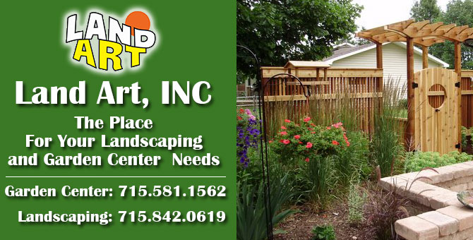 Landscaping landscape design Sugar Camp Wisconsin Oneida County