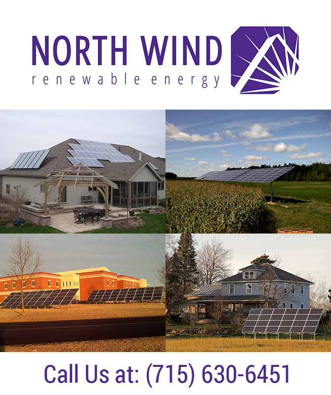 Renewable Energy Solar Energy Linwood Wisconsin Portage County