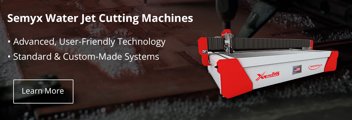 Semyx waterjet cutting machines water jet cutters  Michigan Chippewa County