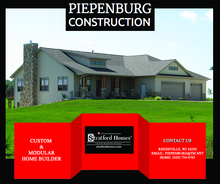 custom homes  Fisherville Wisconsin Manitowoc County