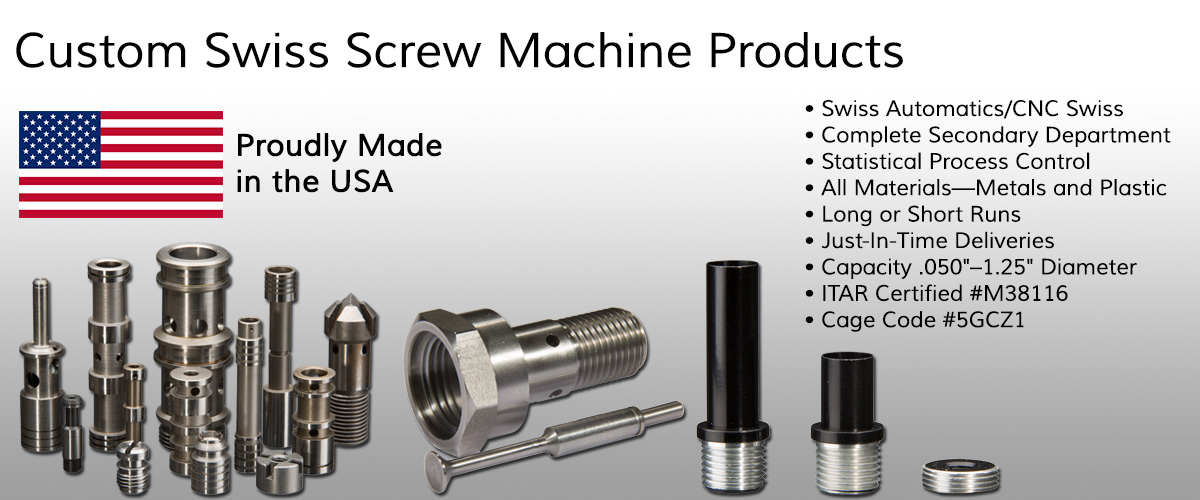 screw machine products swiss screw machine parts Glenwood Illinois Cook County