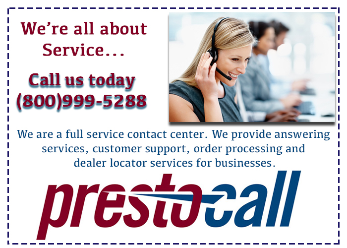 answering services customer service