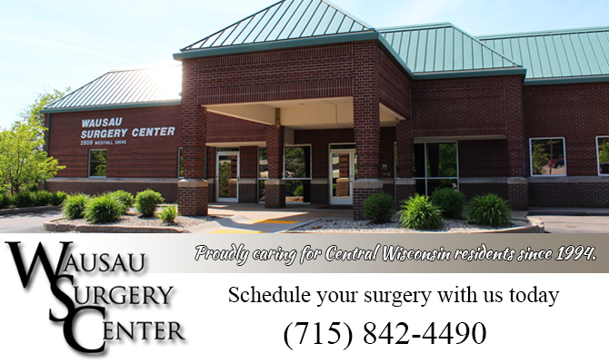 surgery center  Halder Wisconsin Marathon County