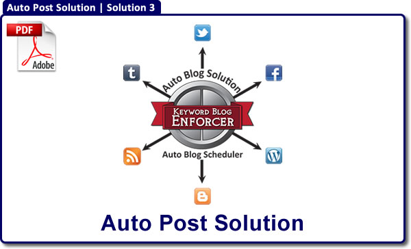 Auto Post Solution