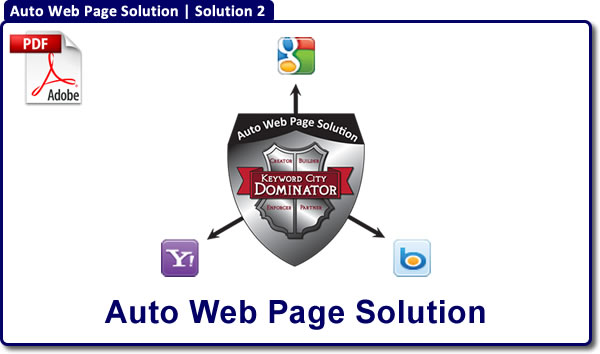 Auto Web Page Solution