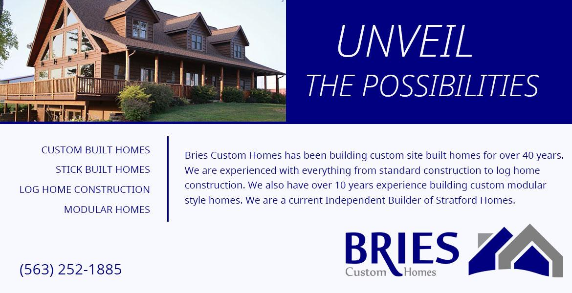 custom home builder  North Buena Vista Iowa Clayton County