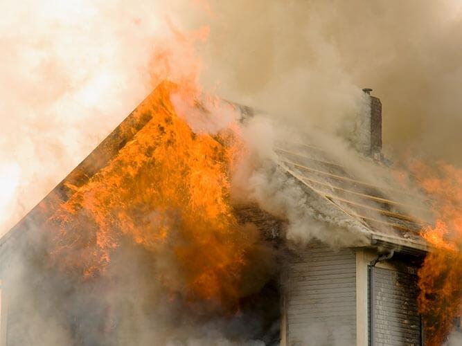 fire damage restoration residential fire damage restoration Ramsey Minnesota Anoka County