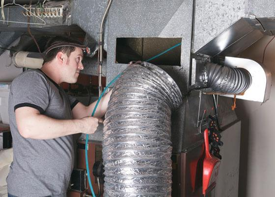 air duct and dryer vent cleaning HVAC cleaning and sanitizing Lynn Wisconsin Clark County