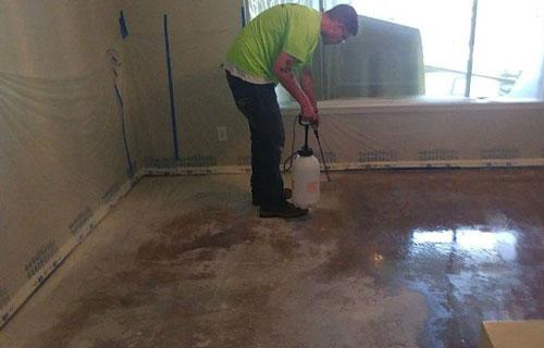 concrete sealant  Houston Texas Montgomery County