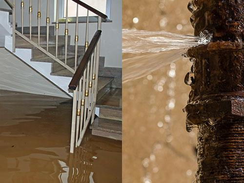 water cleanup water mitigation  Texas Montgomery County