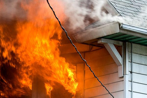 fire and smoke damage restoration  German Ohio Montgomery County