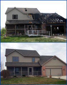 fire and smoke damage restoration residential fire and smoke damage restoration Canada de los Alamos New mexico Santa Fe County