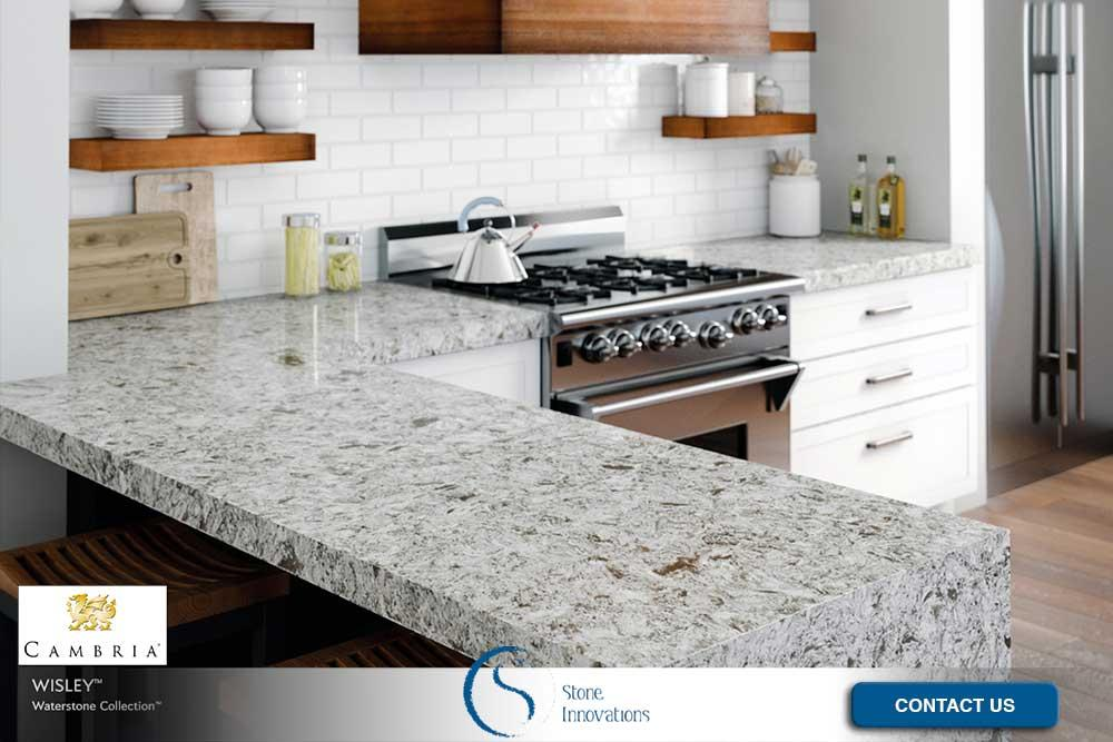 Cambria Countertops cambria black granite countertops Sun Prairie Wisconsin Dane County