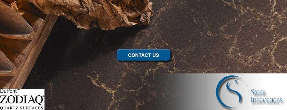 DuPont Zodiac Countertops dupont quartz Edgewater Beach Wisconsin Brown County
