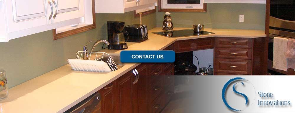 Engineered Stone Countertops engineered stone Kitchen countertops  Wisconsin Dane County