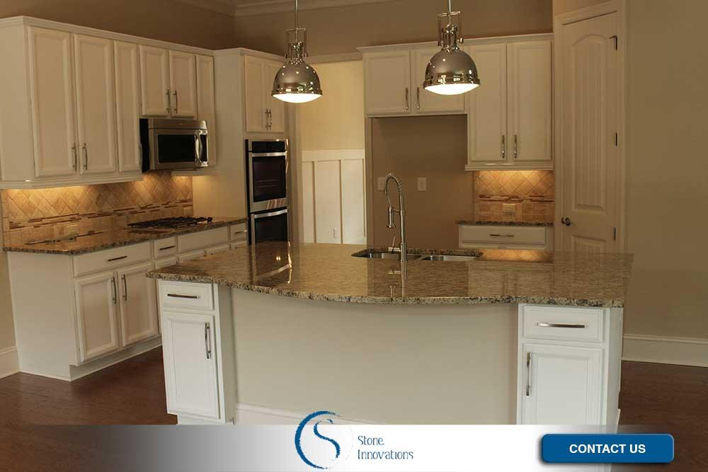 Kitchen Countertops Travertine Kitchen Countertops DeForest Wisconsin Dane County