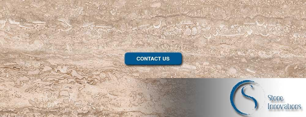 Travertine Countertops silver travertine Wells Wisconsin Calumet County